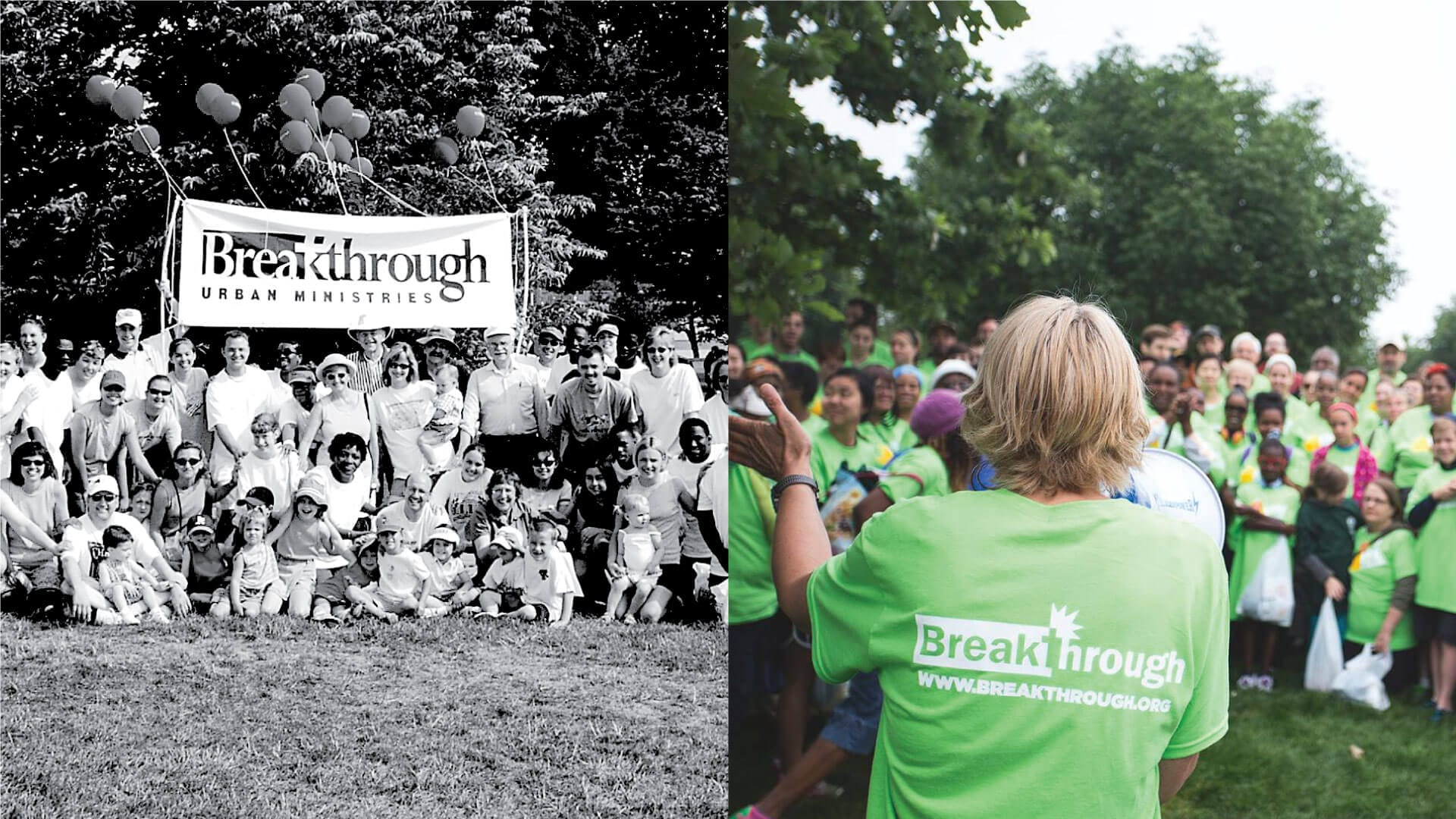 photos of Hunger Walk groups