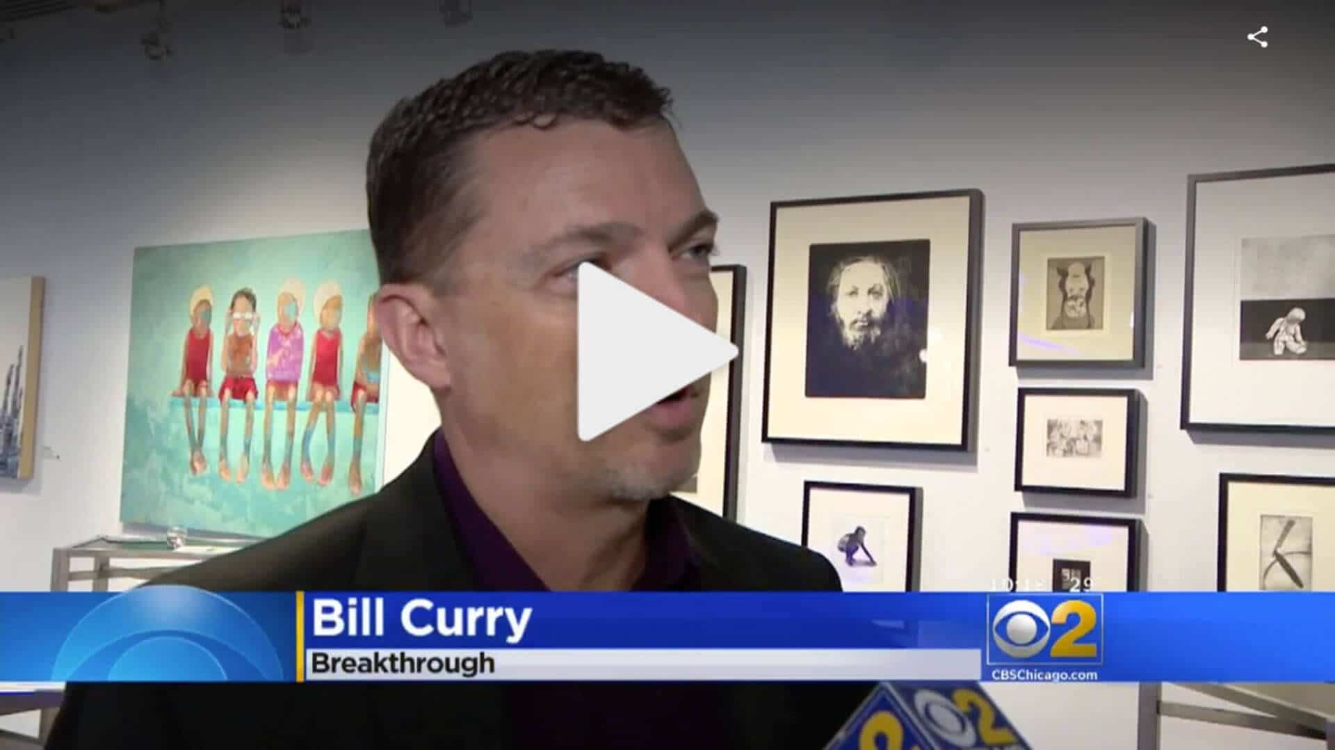 BIll Curry on CBS Chicago interview