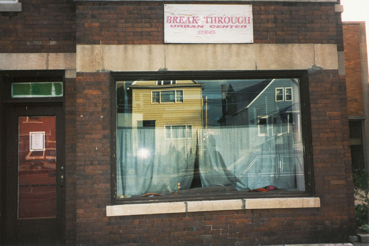storefront exterior of Breakthrough's first location in 1992