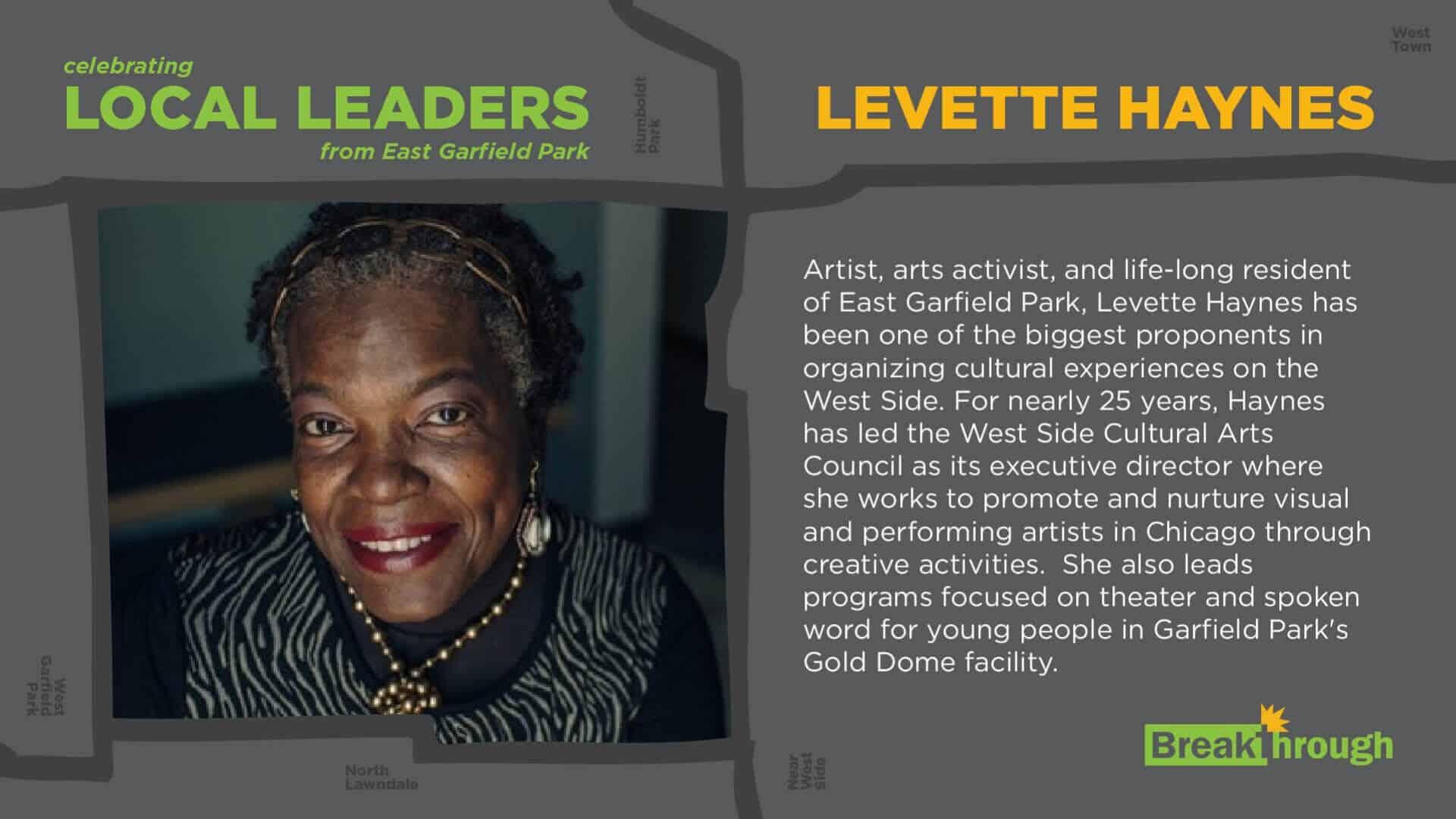 Local Leaders Levette Haynes 8