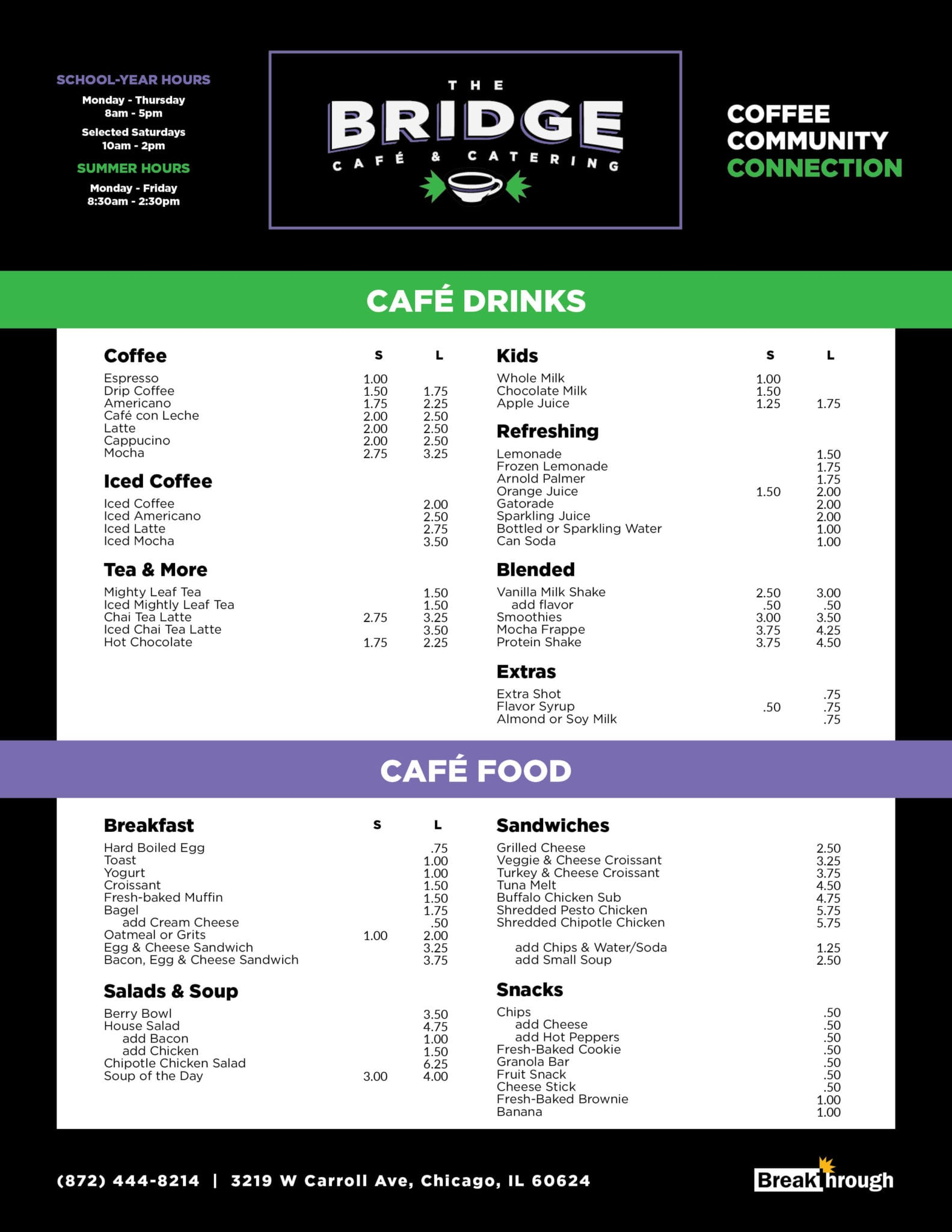 The Bridge Cafe & Catering 1