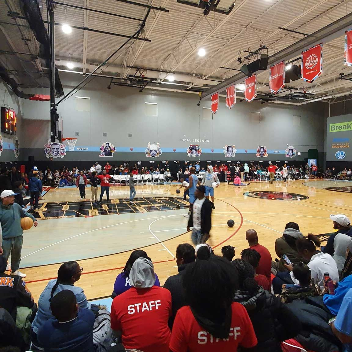 Breakthrough FamilyPlex gym hosting Show Chi Love basketball festival