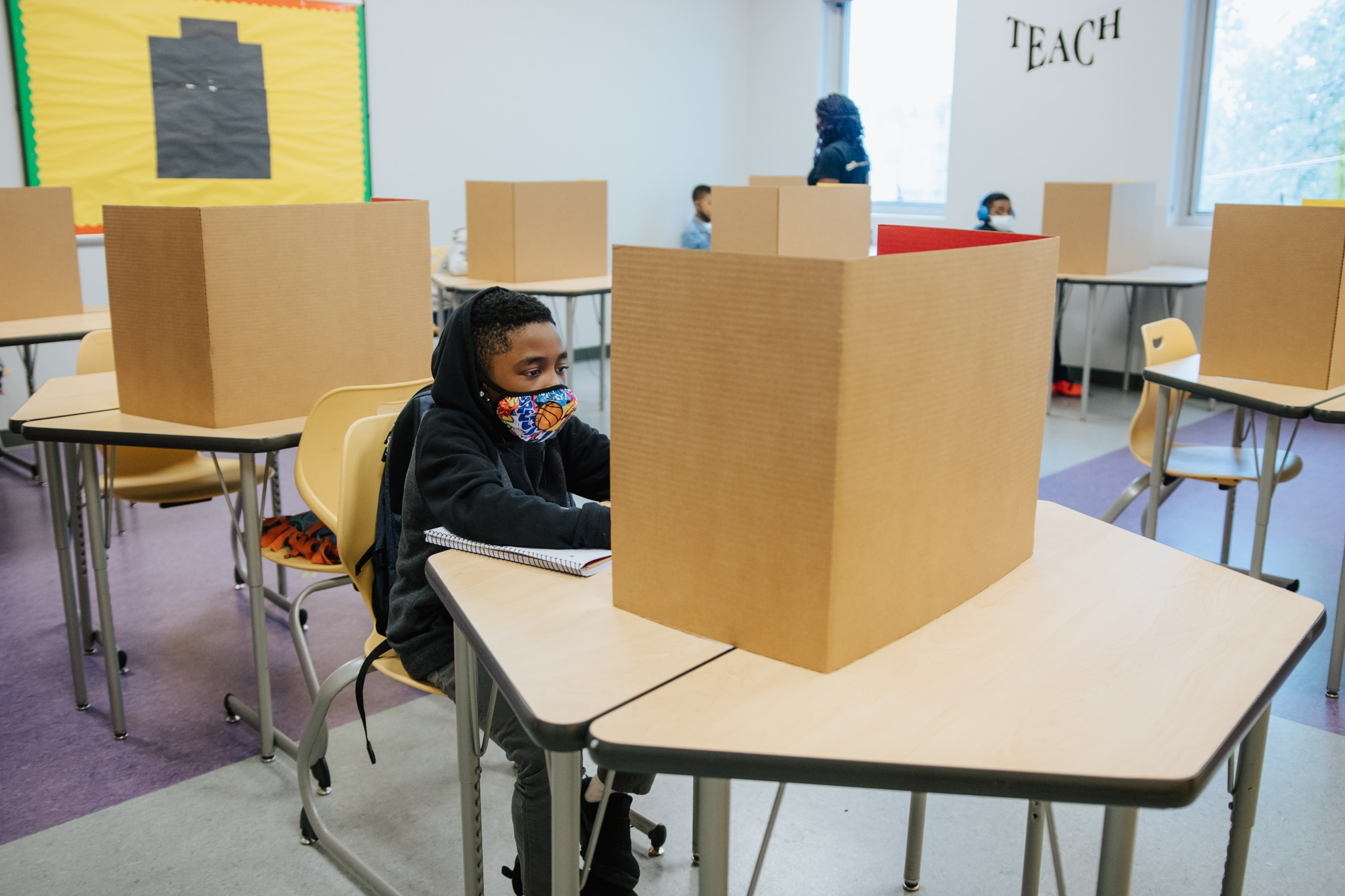 West Side Groups Step Up To Give Essential Workers' Kids A Safe Space To Take Virtual Classes 4