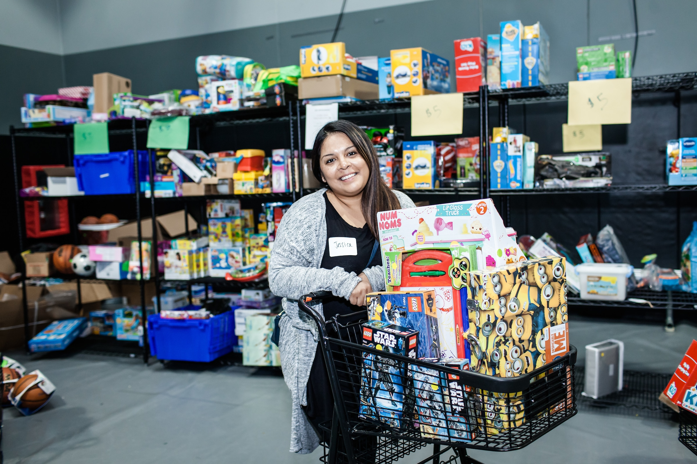 Christmas store collects gifts for families 1
