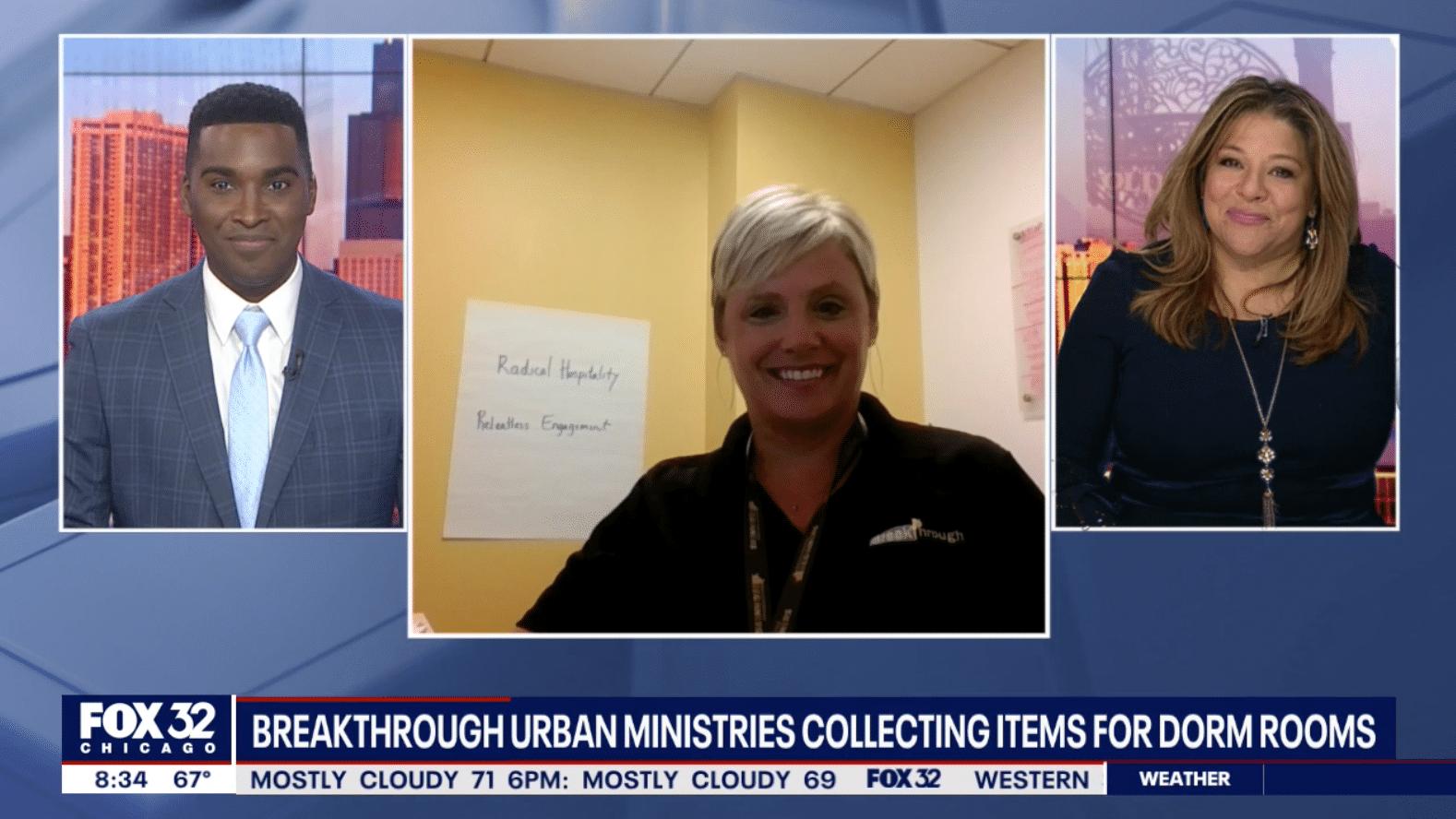 Breakthrough Urban Ministries collecting college student essentials 3